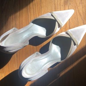 Vintage Satin Ann Taylor shoes